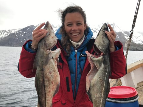 Caroline Krefting (33) er daglig leder i Nusfjord Arctic Resort.