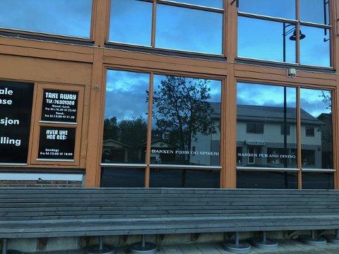 Her drev Banken Pøbb og Spiseri AS sitt utested med samme navn fram til våren 2018. Nå har de begjært seg selv konkurs.