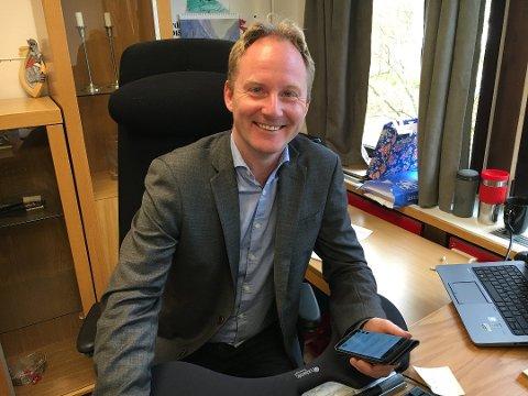 Remi Solberg (Ap), ordfører i Vestvågøy.
