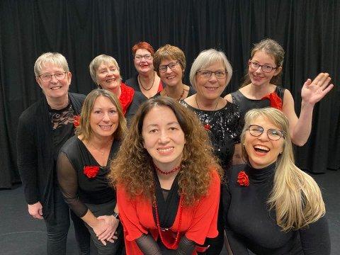 """Vest-Lofoten damekor har fått 25.000 kroner i folkehelsemidler til tiltaket """"Sammen for livet"""", som skal invitere eldre og ensomme til sang, musikk og sosialt samvær gjennom gratis konserter."""