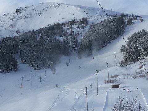Til neste uke starter forhåpentligvis produksjonen av snø i alpinanlegget i Stamsund.