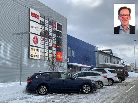 Yngve Haldorsen, administrerende direktør i Coop Nord.