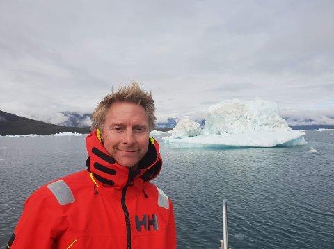 Magne Jacobsen jobber i Hurtigruten.