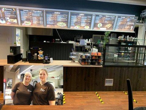Ny disk er siste del av oppgraderingen på Trappa café og lunsjbar.