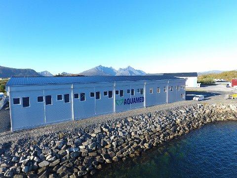 Aquameds gamle produksjonslokaler på Storeiødya.