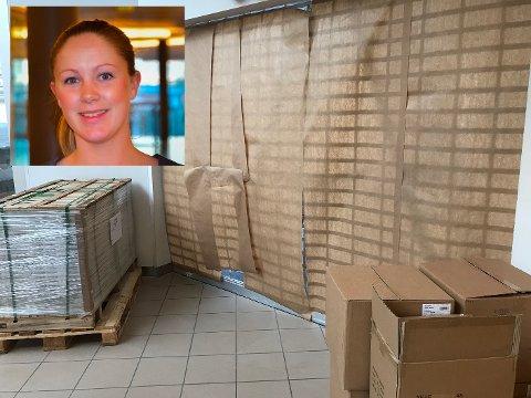 Senterleder Kjersti Krüger er veldig godt fornøyd med at Nille får større lokaler inne på senteret.