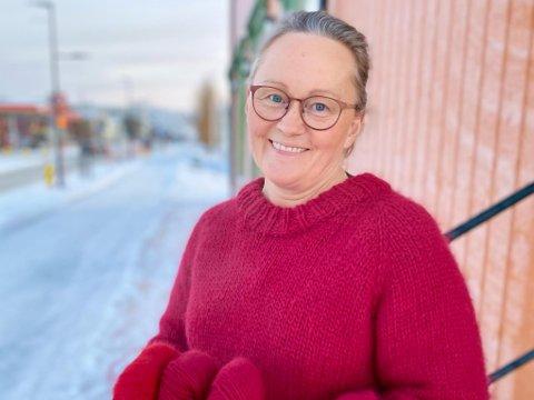 Grete Iversen og butikken Gretes håndarbeid er av bladet Familien nominert til finalen av «Norges beste garnbutikk».