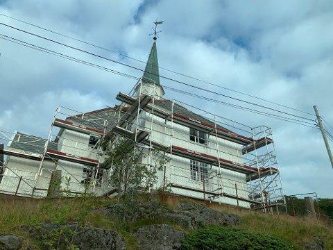 Moskenes kirke.