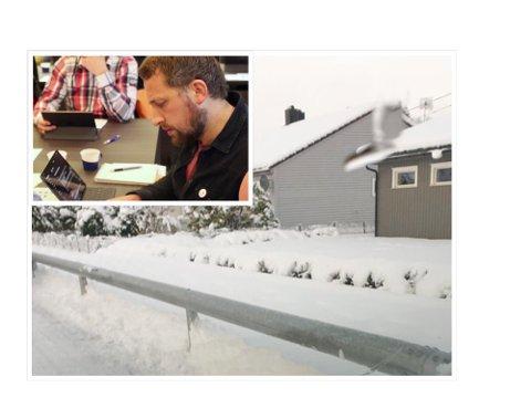 SPØRSMÅL: Marius Thoresen (Rødt) stiller spørsmål om kommunens brøyting ved det første snøfallet.