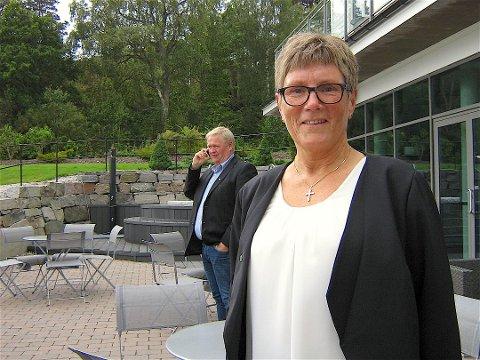 TAKKER: Reidun Bakken takker for seg som ordfører i Audnedal. Hun fikk fire år – ved midnatt er det slutt.