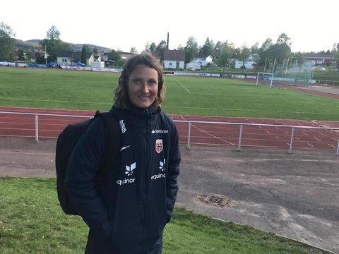 TRENER: Ingvild Stensland overtar jobben som trener for U-23 landslaget for kvinner.
