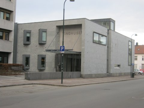 FIRE UKER: Agder tingrett i Kristiansand har fengslet den voldssiktede mannen for fire uker.