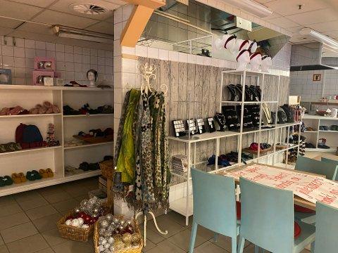 Kari Anne Sukkestad har tatt med gårdsbutikken fra Espedalen og til Lillehammer.
