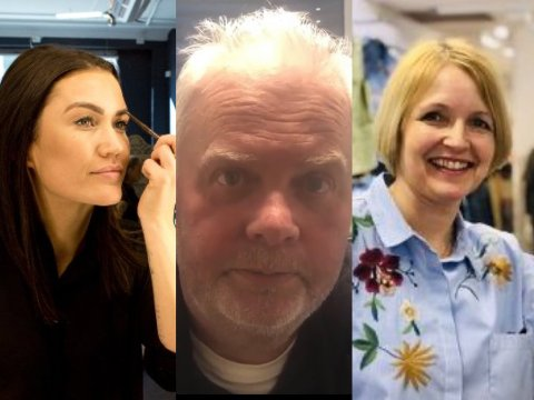 Silje Noreng, Stein B Olsen og Hege Riise har forskjellige opplevelser av annerledesåret 2020.