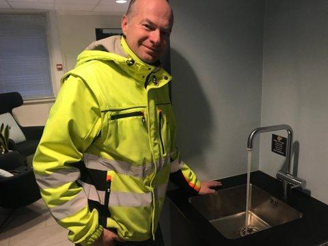 Arild Jørstad, avdelingsleder for ledningsnettet i Lillehammer kommunes vann- og avløpsavdeling
