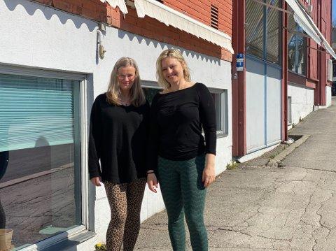 Ingrid Meren og Hege Norman-Stormbringer har skapt rom for avkobling midt i sentrum av Lillehammer.