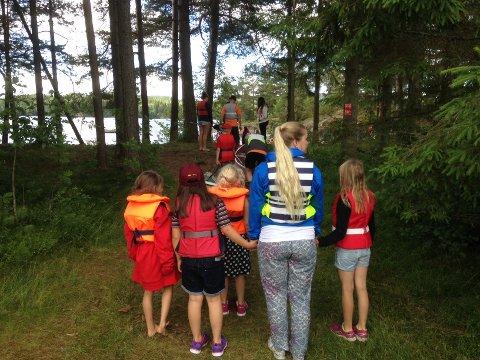 32 barn fra Østfold er på ferie med Røde Kors denne uken.