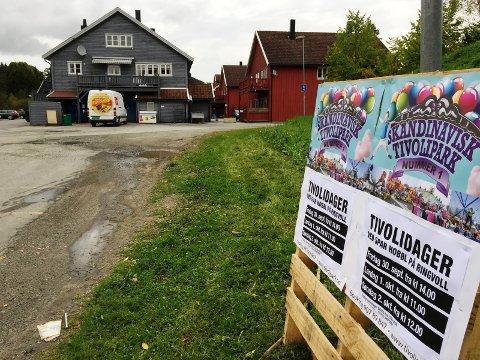 I gang: Her på Ringvoll blir det tivoli i helgen.