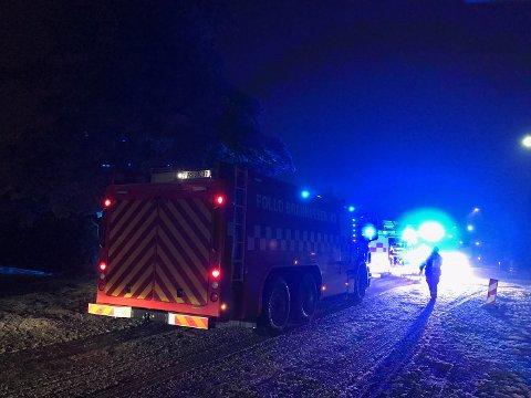 Utrykning: Det brenner i en bygning i Måneveien i Vestby. Det melder Alarmsentralen torsdag kveld.