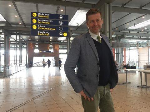 Finn-Erik Blakstad blir Vesntres ordførerkonadidat ved lokalvalget i 2019.