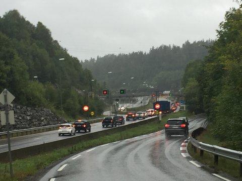 Onsdag er det tredje dag med trafikkaos på grunn av oppgraderingen av Nordbytunnelen.