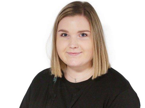 Kristine Brandsdal Barane, journalist i Moss Avis.