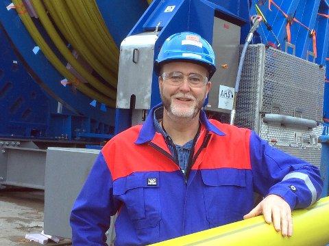 NY SJEF: Ove Arnesen (44) er midlertidig ansatt som ny leder for Aker Solutions i Moss.