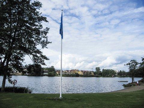 RENT VANN: Nesparken fikk Blått flagg i 2016.