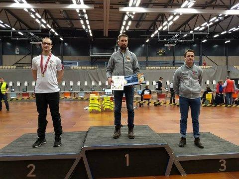 TIL TOPPS: Are Hansen kunne glede seg over NM-gull i helgen.