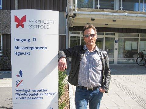 SIER NEI: - Vi i Fagforbundet kan ikke gi noen blankofullmakt til at Moss kommune kan innføre langvakter for alle i helgeturnus, sier Frank Bergflødt.