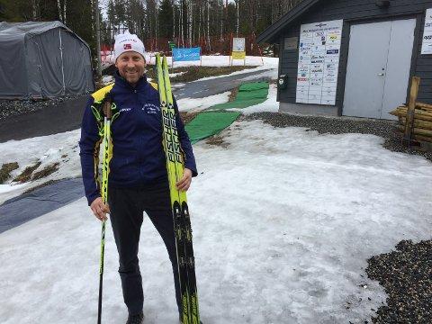 BRAGDMANNEN: Stein Olsvik er en viktig mann for Moss Skiklubb, og står som vinner av to Bragdskier.