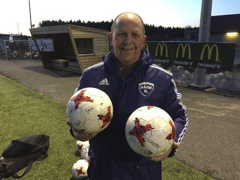 Miljøfaktor: Arne Kristiansen er en kontinuitetsbærer og en viktig brikke i Råde-fotballen.
