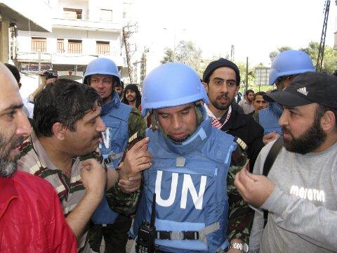 Behov: – Syrias framtid kan bare løses gjennom forhandlinger. I tillegg må det gjennomføres et toppmøte i FN-regi for å finne tilbake til en verdensorganisasjon som kan påta seg å løse de oppgaver den var opprettet for, minner Gunnar Listerud om i denne kronikken. foto: scanpix
