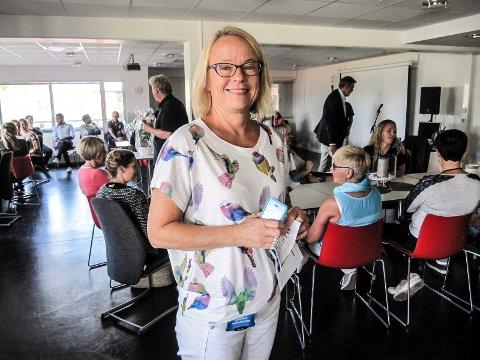 VELLYKKET: - Brukerne går mye tidligere over i ordinært arbeid nå enn før, sier NAV-leder Kari Mette Mjønner i Moss.