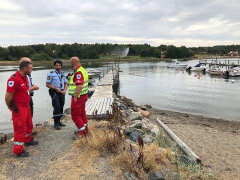 ÅREFJORDEN: Kvinnen som var utsatt for en drukningsulykke i Årefjorden døde onsdag.