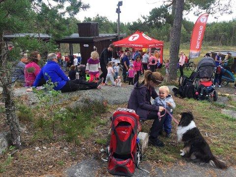 PÅ SØNDAG: Familiedag i Mossemarka. I år feirer også DNT sitt 150-årsjubileum.