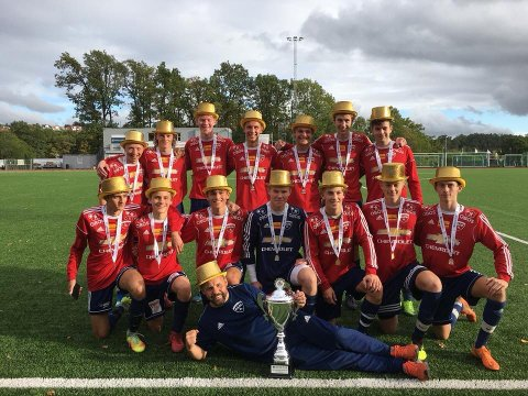 GULLGUTTER: Rådes juniorer gikk seirende ut av OBOS Cup i helgen.