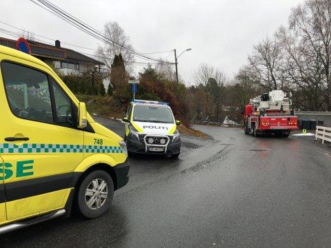 Ingen personer kom til skade da det brøt ut pipebrann i Solveien fredag.