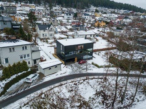 NYTT: Gunnar Schüssler har bygget nytt hus i Blektjernveien.