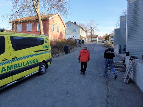 DØD: Mannen som ble funnet død i en leilighet på Jeløy hadde ligget flere måneder på gulvet.
