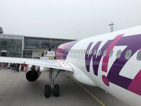 ØNSKET: Wizz Air er ønsket til Rygge, men ikke for å drive innenriksflyvninger slik selskapet nå starter på Gardermoen.