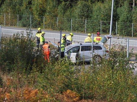 To personer er kjørt til Kalnes etter en trafikkulykke på E6 ved avkjøringen til Missingmyr.