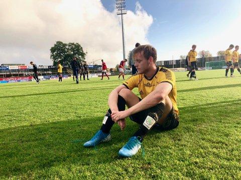 INGEN KONTRAKT: Henrik Stokkebø fikk sjansen til å overbevise MFK om at han var verdt en kontrakt, men han endte tomhendt. Nå skal 25-åringen sette seg ned og vurdere tilbud fra andre klubber.