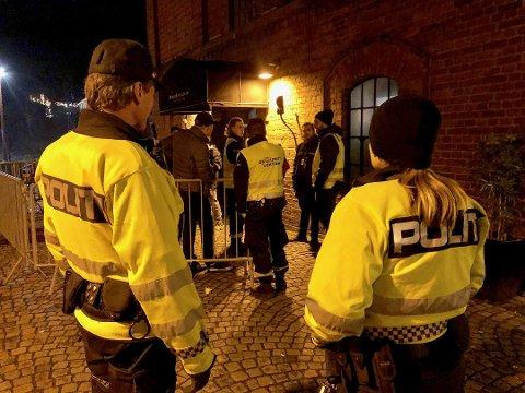 MINDRE BRÅK PÅ BYEN: Politiet har registrert færre saker knyttet til ordensforstyrrelser i Moss sammenlignet med samme tid i fjor.