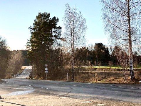 60-SONE: Det var i denne 60-sonen ved Hobølveien 622 i Våler at en mann ble målt til 72 kilometer i timen.