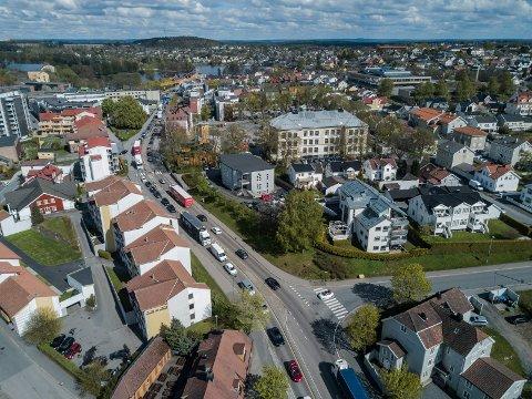 RIKSVEI 19: Moss kommune har siden 2016 målt lufta i Moss sentrum. Målingene av nitrogenoksid (NOx) startet i 2018, men har hele tiden ligget langt under grenseverdiene.