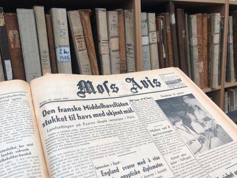 Moss Avis ble grunnlagt i 1876, og snart er alle utgaver tilgjengelige på nett.