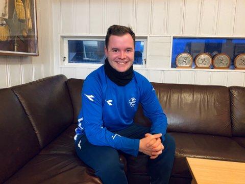 PROSJEKTLEDER: Arne Solhaug er storfornøyd med at Sprint-Jeløy nå skal satse på e-sport. – Dette skal være noe for alle!