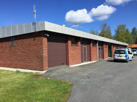ARBEIDSULYKKE: Hendelsen skal ha skjedd inne i dette bygget ved Vansjø Vannverk.