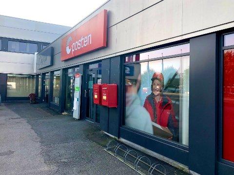 OVERFØRES: Flere mossinger overføres snart fra Høyden postkontor til Postens nye utleveringssted på Høyda.